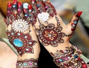 Jaipuri Mehndi Art