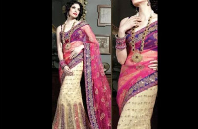 Kaasm Lehenga Saree On Rent