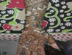 Deepak Mehandi Art
