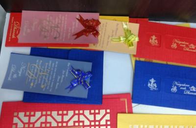Sri Dhanalakshmi Wedding Cards