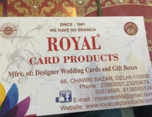 Royal Card Products