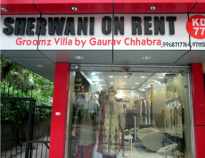 Groomz Villa (Designer Sherwani On Rent)