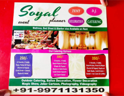 Soyal Tent & Caterers